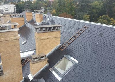 Rénovation de la toiture de l'Hôtel Bernascon par Vernoud-Lansaque