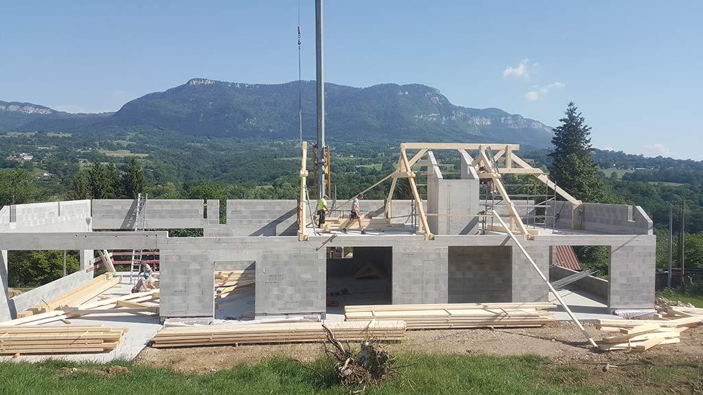 charpentier en Savoie - 73 -
